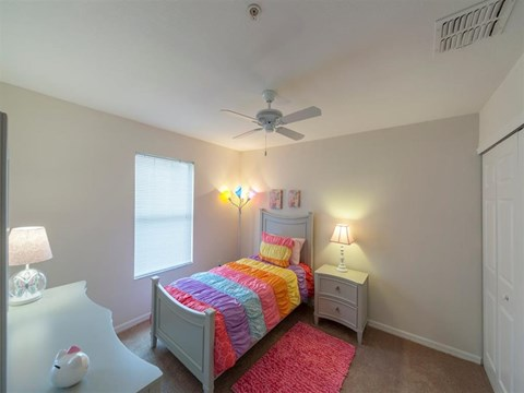 Grande Court Bedroom with Ceiling Fan