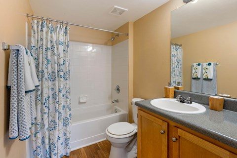 Lindsey Terrace|Bathroom with garden style tub