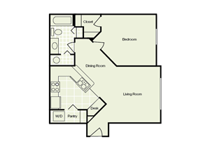 Noahs Landing Apartments 1 bedroom/1 bath
