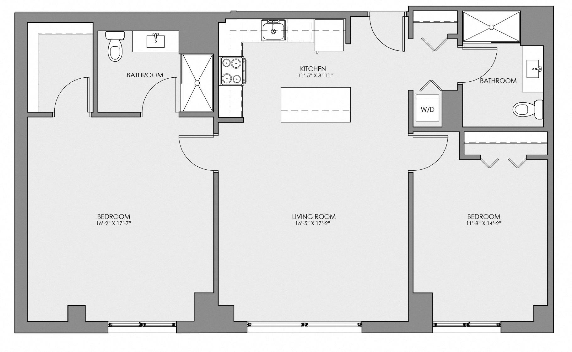 2B Floor Plan 8