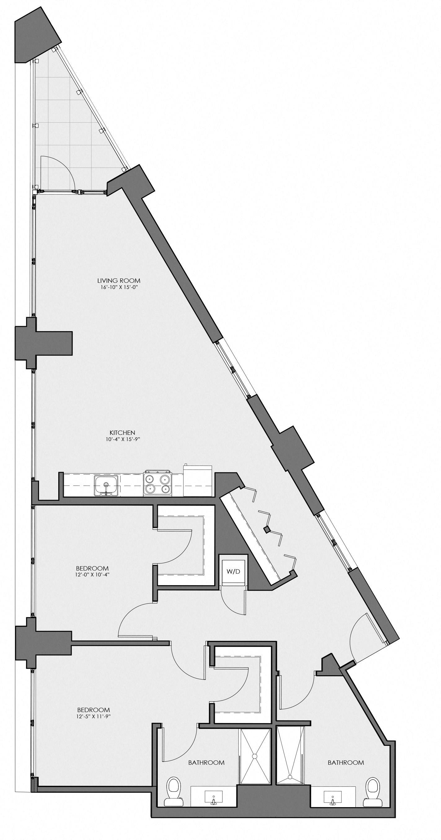 2D Floor Plan 10