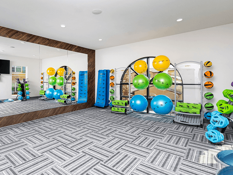 Flex Rooms With Fitness Space For Yoga at Las Positas Apartments, Camarillo, 93010