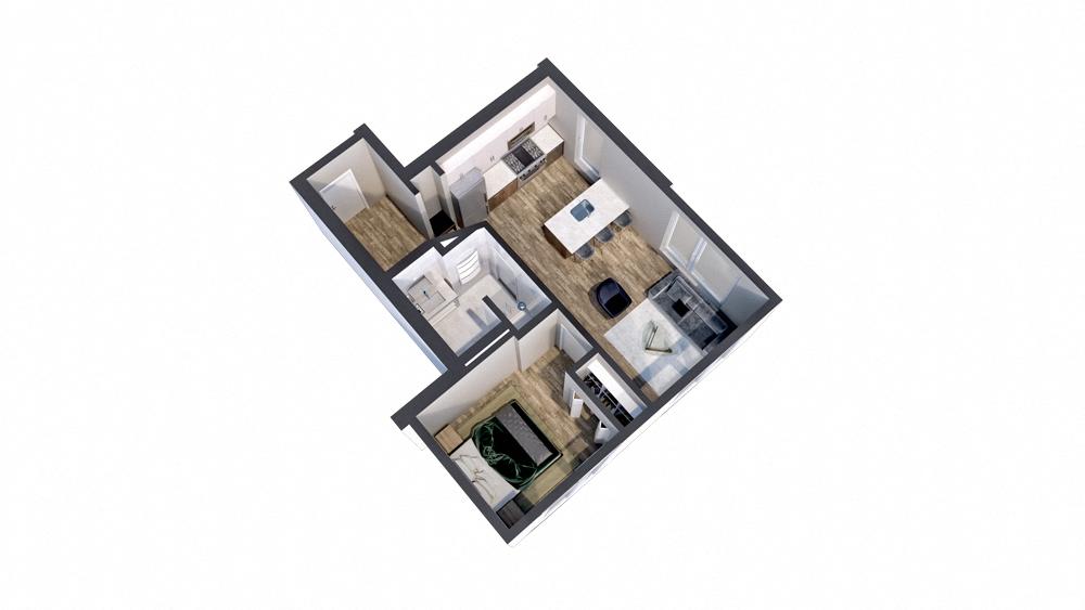 Floor Plans | The Central | Minneapolis, MN | Studio, 1, 2 ...