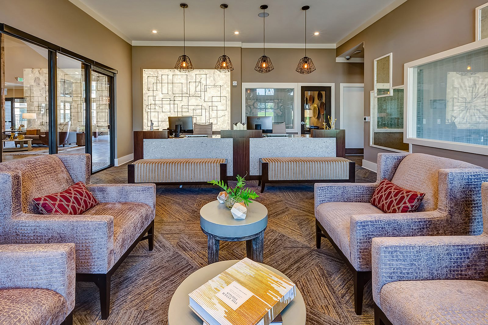 Resident seating at Windsor at Pinehurst, 3950 S Wadsworth Blvd, 80235