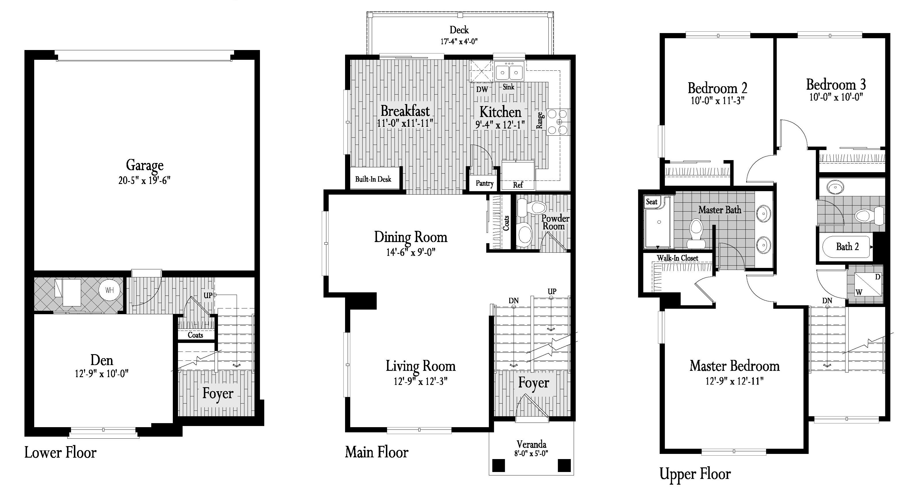 Laurel Floor Plan 14