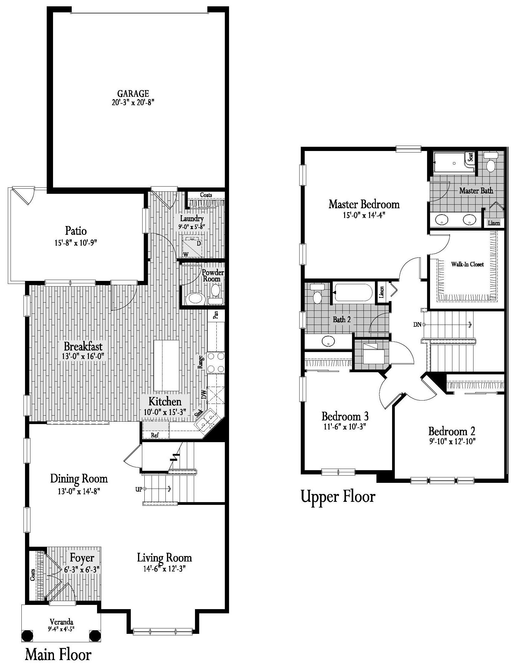 Saratoga Floor Plan 12