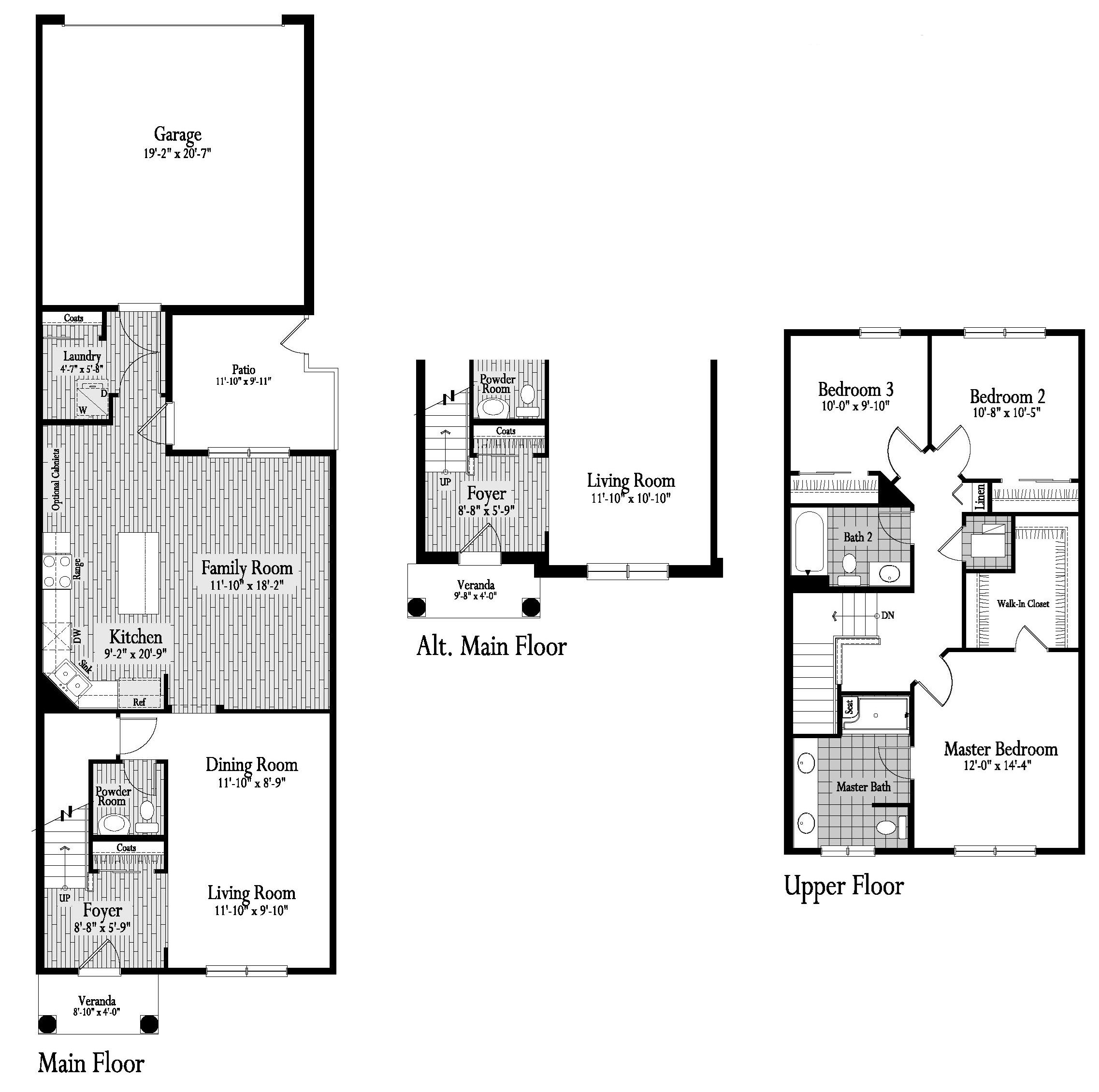 Wedgewood Floor Plan 13