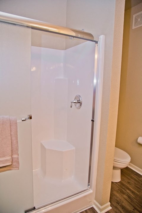 Oval Tub With Combo Shower at The Manor Homes of Eagle Glen, Raymore, 64083