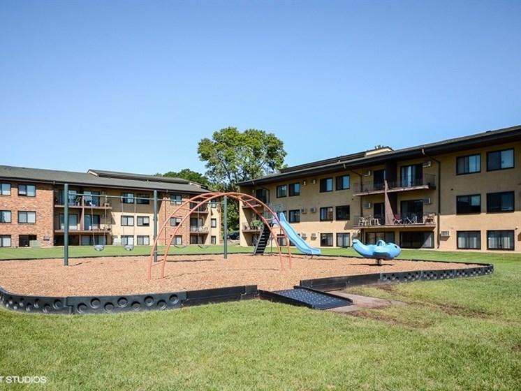 Playground area at Equinox Apartments