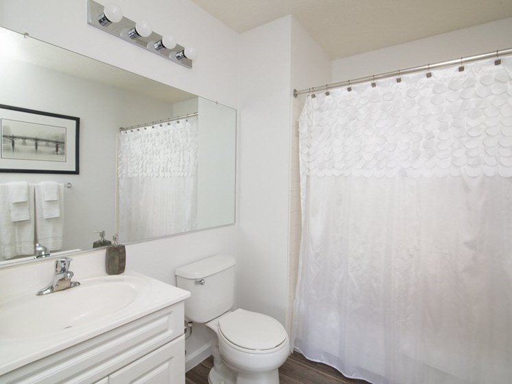 Spacious Bathrooms with Wood Flooring at Town Walk at Hamden Hills, Hamden