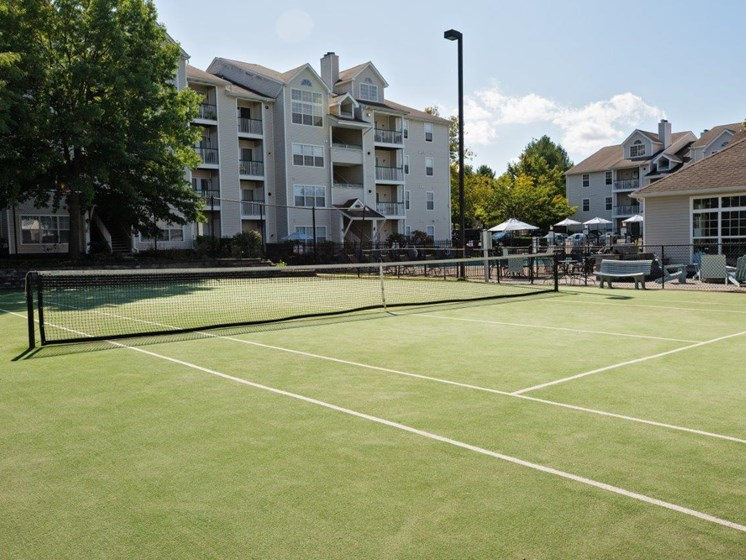 Out Door Tennis Courts