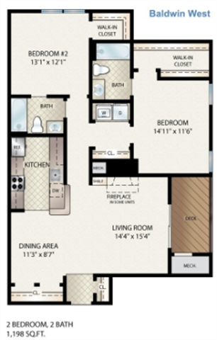 Baldwin West Floor Plan 11