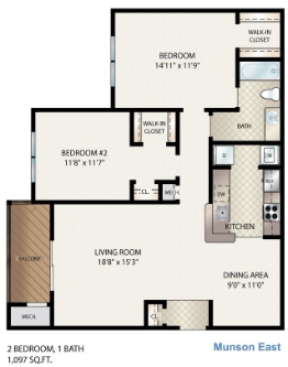 Munson East Floor Plan 10