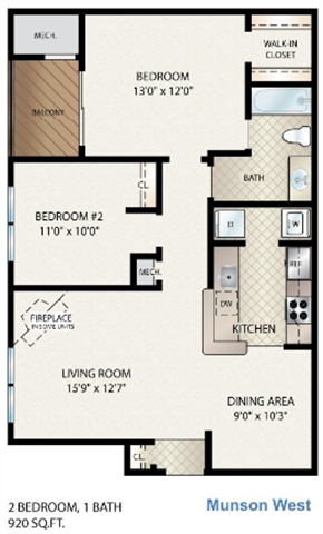 Munson West Floor Plan 9