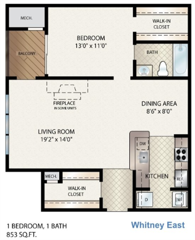 Whitney East Floor Plan 3