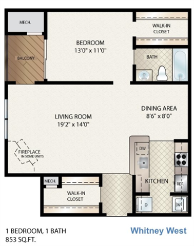 Whitney West Floor Plan 4