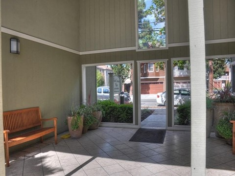 Community outdoor entryway