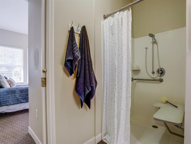Walk-In Showers And Garden Tubs at Westmont of Fresno, Fresno