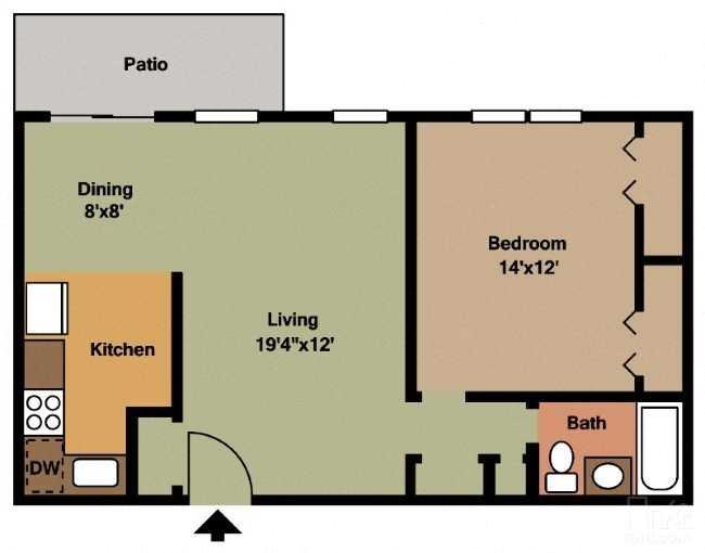 The Buchanan Floor Plan 1