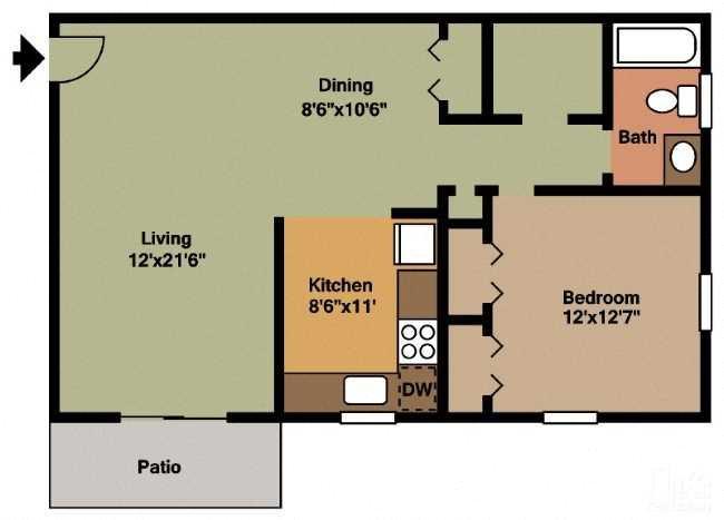 The Hamilton Floor Plan 2