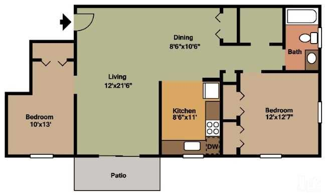 The Madison Floor Plan 3