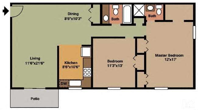 The Wheatland Floor Plan 5