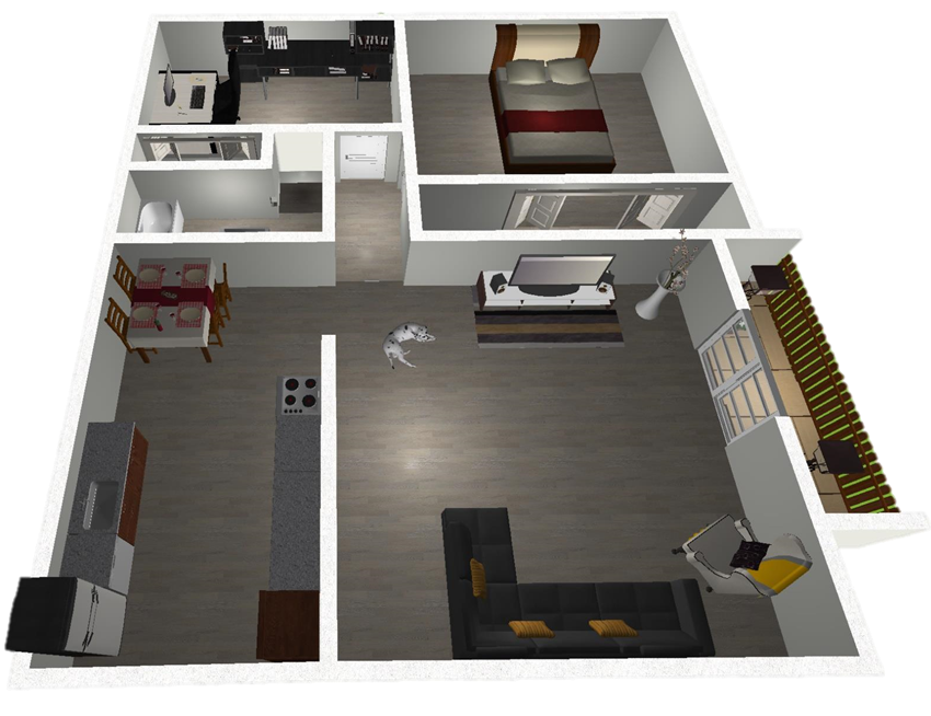 2 Bedroom West