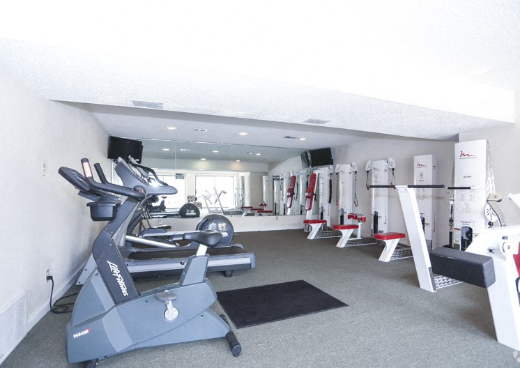 Downstairs Gym in Clubhouse