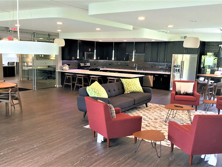 Social Clubhouse with Tech Lounge  at Woodland Ridge, Illinois, 60517
