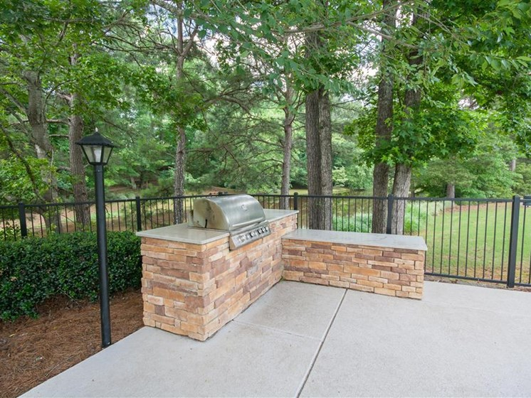 Community Grilling Stations at Lullwater at Calumet, Georgia