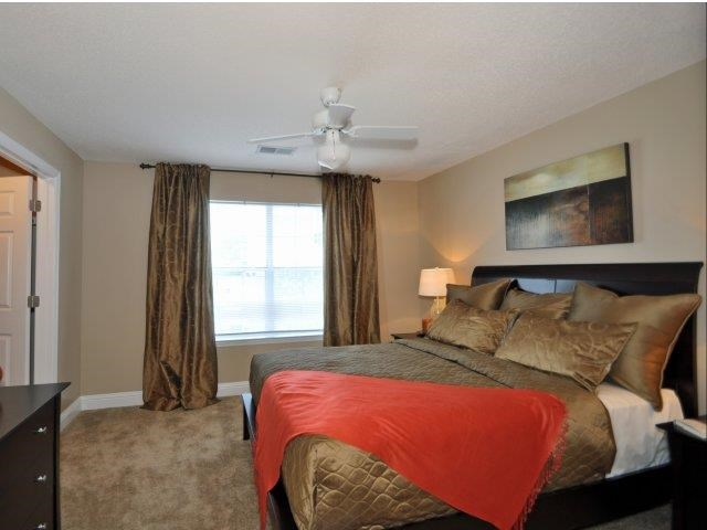 Comfortable Bedroom With Large Window at Lullwater at Calumet, Newnan, 30263
