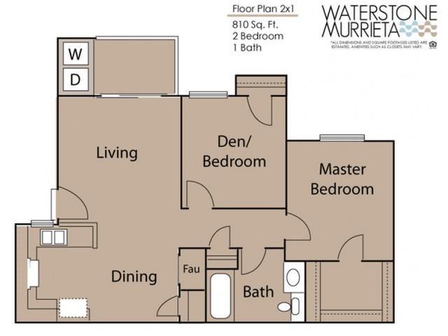 2X1 Floor Plan 2