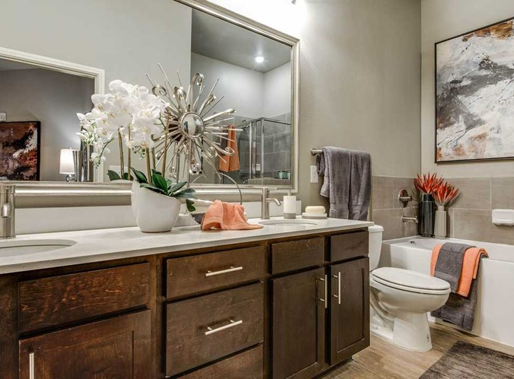 updated bathroom