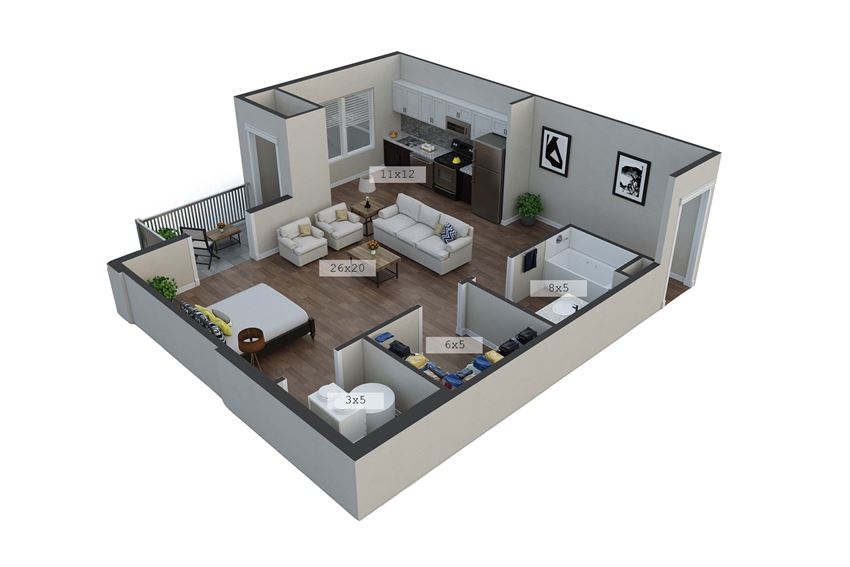 Banner Floor Plan