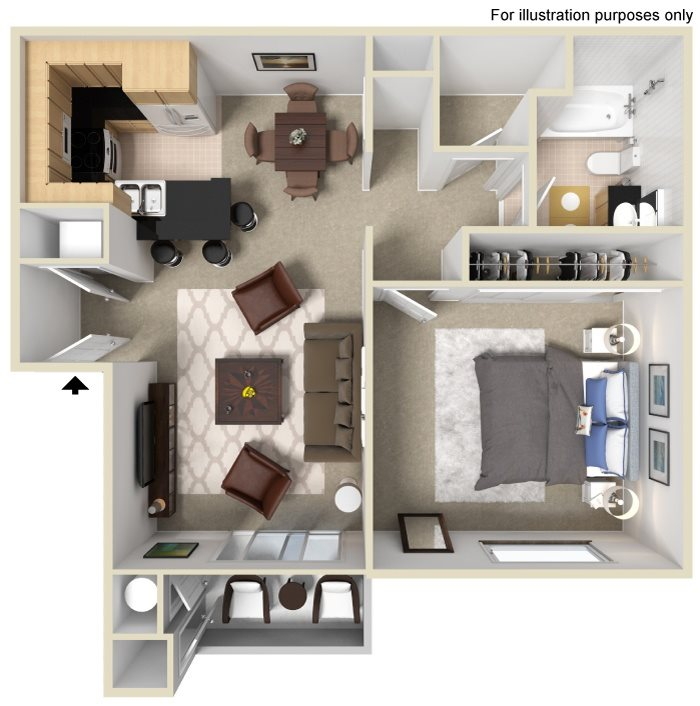 Kayak Floor Plan 1