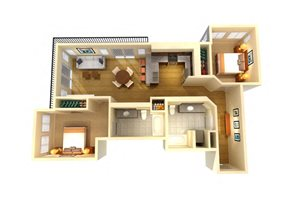 Two Bed Two Bath C