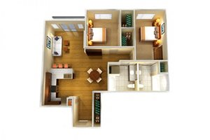 Two Bed Two Bath D