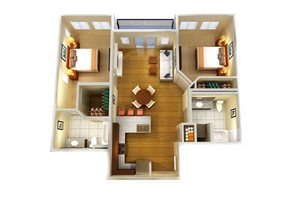 Two Bed Two Bath A