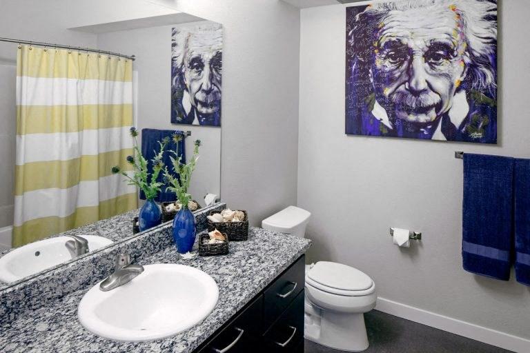 The Wilmore bathroom