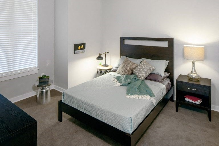 The Wilmore bedroom with bed