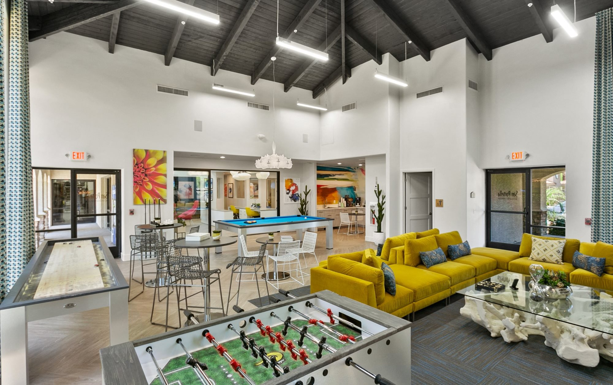 San Portella Apartments Recreation Room