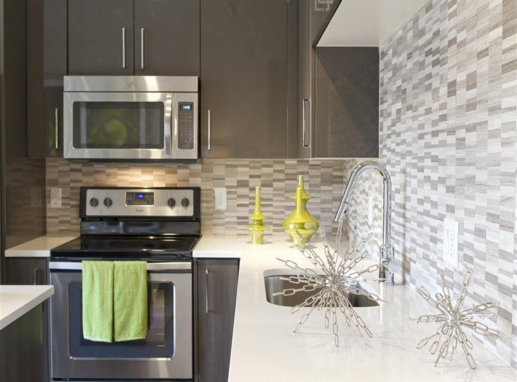 Via Apartments | Kitchen Backsplash
