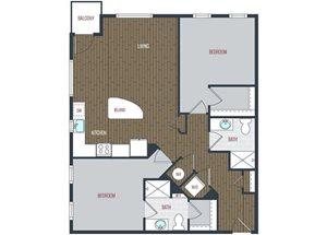 B3 floor plan.