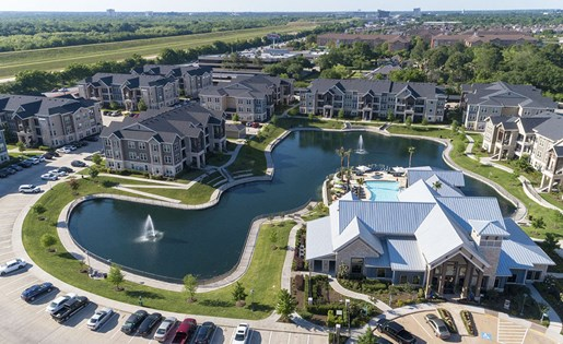Aerial Image of our beautiful community Near George Bush Park