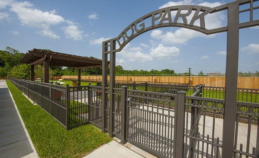 Image of the dog park at our luxurious apartments in Houston, TX