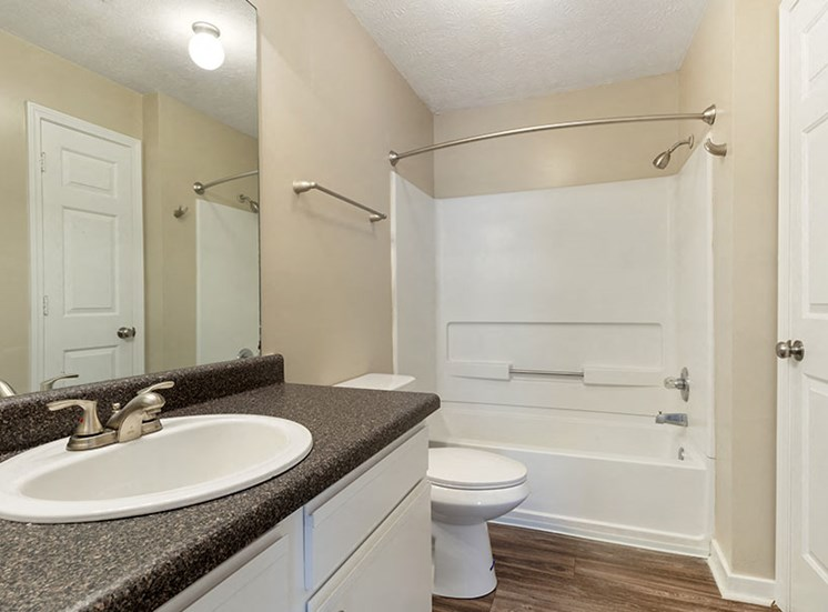 Upgraded Bathroom Fixtures at Ridgeland Place Apartment Homes, Ridgeland, Mississippi
