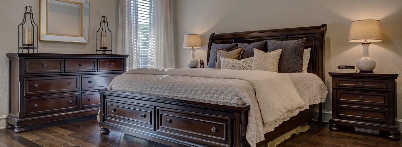 bedroom example at Aspen Run Apartments in Tallahassee, FL 32304