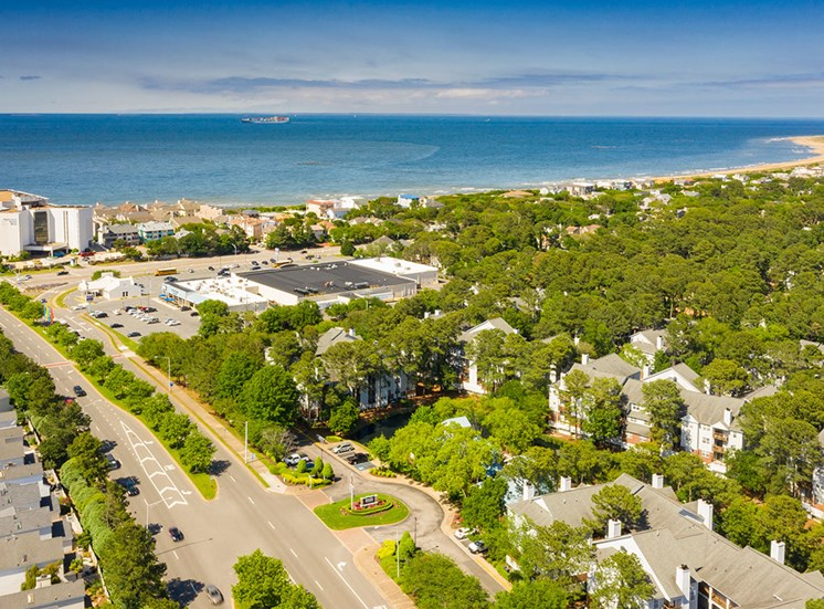 Marina Shores Apartments near the Chesapeake Bay