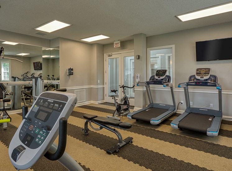 Fitness Center at Marina Shores Apartments