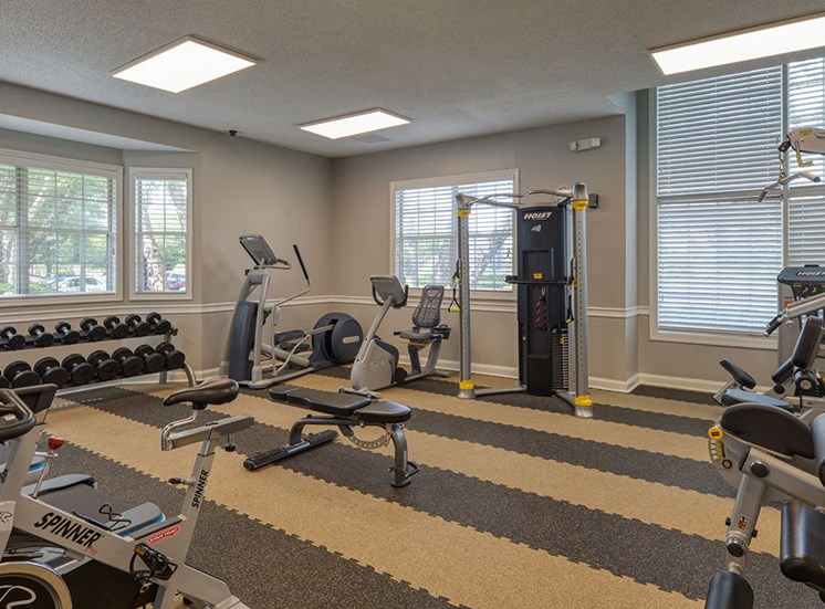 Fitness_Center_Marina_Shores Apartments in Virginia Beach